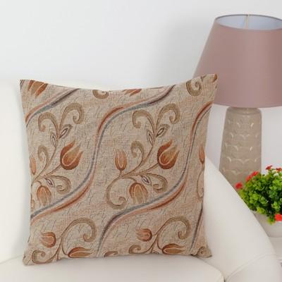 Pillow case decorative Ethel Zarina 40×40 cm, density 280 g/m2, 30% cotton, 70% p/e
