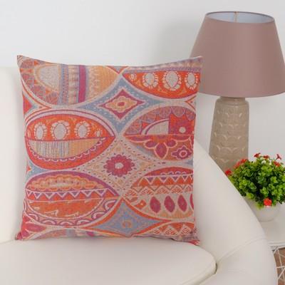 """Pillow case decorative Ethel """"Luxury"""" of 40×40 cm, density 280 g/m2, 30% cotton, 70% p/e"""