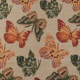 Покрывало гобеленовое Этель «Бабочки» 150×200 см, пл. 280 г/м², 30% хлопок, 70% п/э Ош