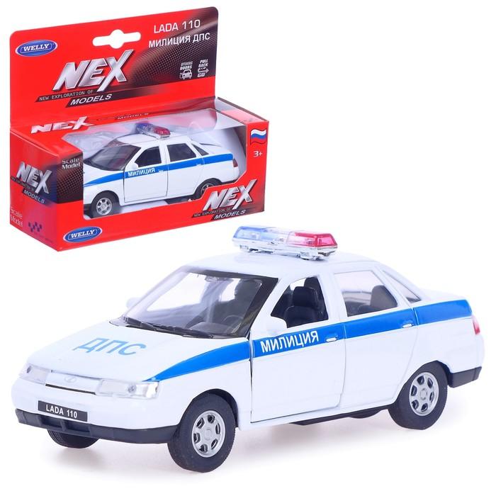 Модель машины Lada 110 - Милиция ДПС, масштаб 1:34 - 39
