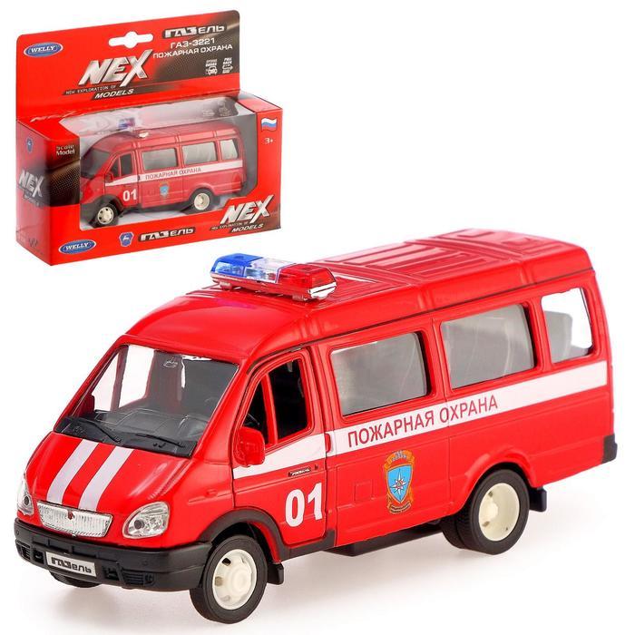 Модель машины «ГАЗель» - Пожарная охрана, открываются двери