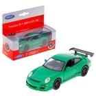 """Машина """"Porsche 911 GT3"""" 1:34-39, цвета МИКС"""