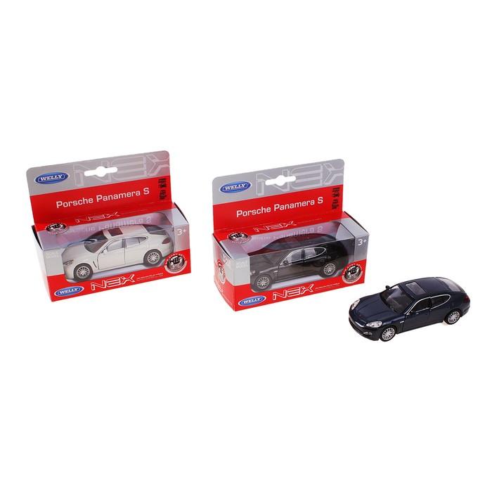 """Машина """"Porsche Panamera S"""" 1:34-39, цвета МИКС"""