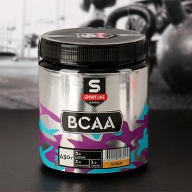 Аминокислоты SportLine BCAA, банан, 450 г