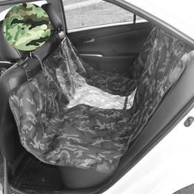 Чехол-накидка на заднее сиденье, оксфорд 600, multicam