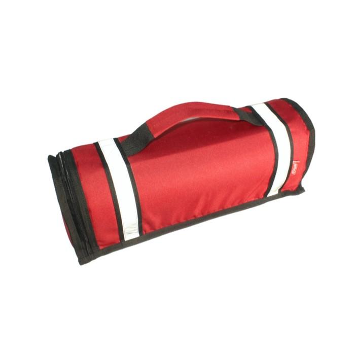 Чехол для автомобильного огнетушителя 420х140х140 мм, оксфорд 600, красный