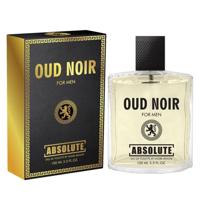 Туалетная вода мужская Absolute Oud Noir, 100 мл