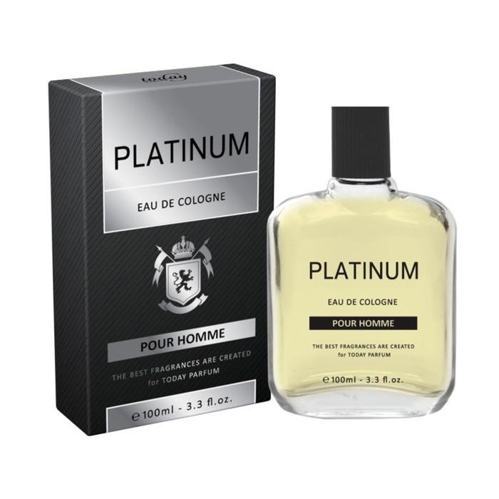 Одеколон Eau De Cologne Platinum, 100 мл