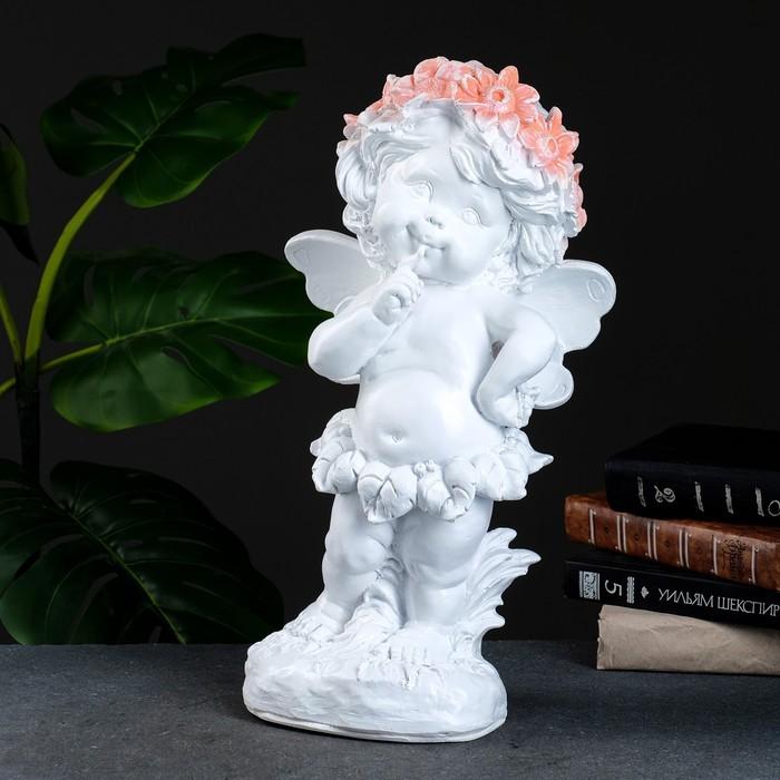 "Фигура ""Ангел в цветах"" 43х22см - фото 798119175"