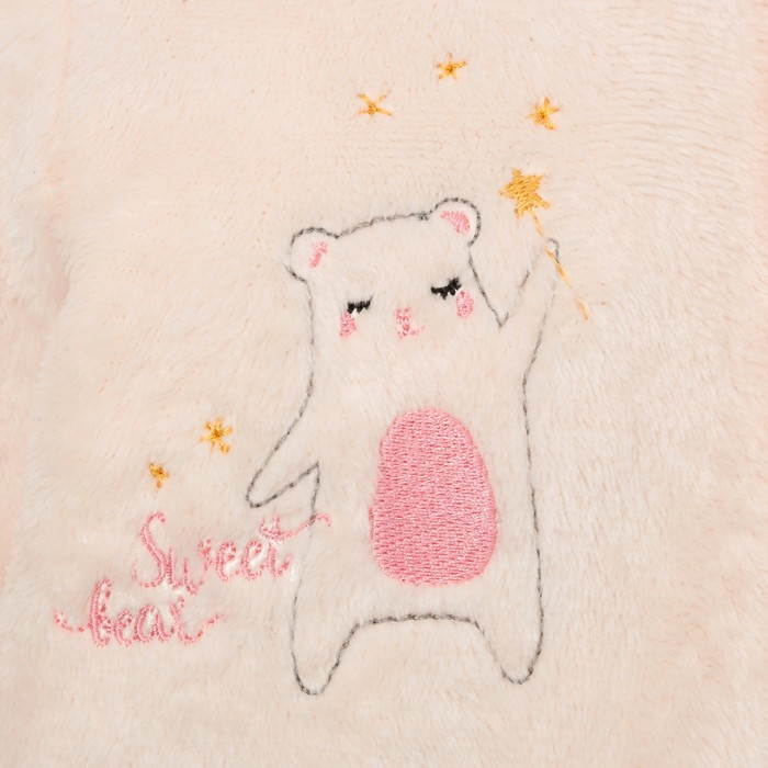 "Комбинезон Крошка Я ""Sweet bear"", бежевый, рост 74-80 см"