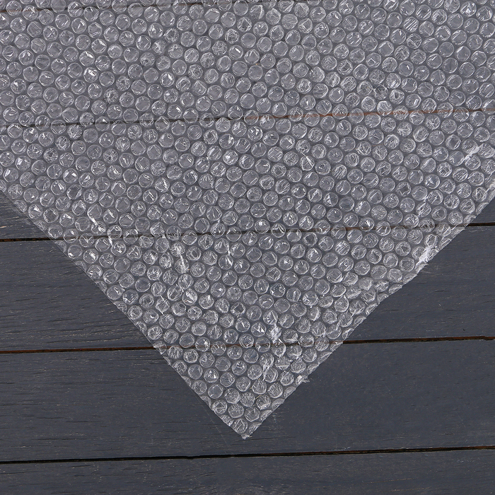 Плёнка воздушно-пузырьковая, 1 × 5 м, двухслойная