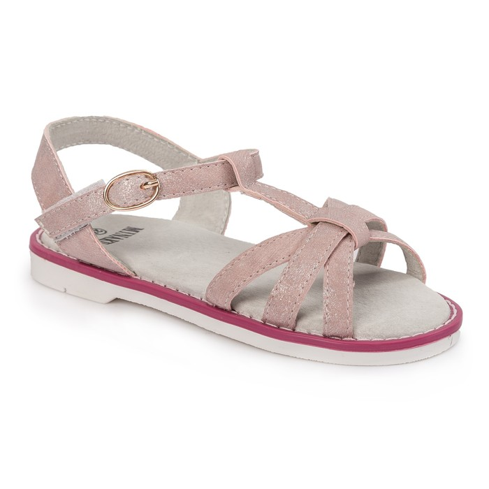 Сандалии детские MINAKU цвет розовый, размер 25