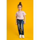 """Джинсы для девочки """"Сара"""", рост 86-92 см, цвет синий"""