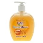 Жидкое мыло Help Молоко и мед с дозатором 500 г