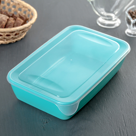 1.9 L food container for microwave, mix color