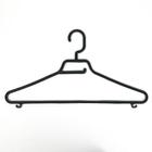 Вешалка для одежды, цвет черный