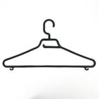 Набор вешалок для одежды, 5 шт, цвет черный