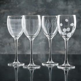 "Набор бокалов для вина 250 мл ""Лаунж клаб"", 4 шт"