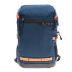 Рюкзак молодёжный эргономичная спинка Kite 1018 Kite&More-1, 48 х 29 х 12 см , синий