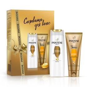 Подарочный набор Pantene: шампунь «Интенсивное восстановление», 250 мл + бальзам 3 Minute Miracle, 200 мл