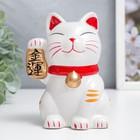 """Piggy Bank ceramic """"Maneki-neko - character wealth"""" MIX 11,5х9х7,3 cm"""