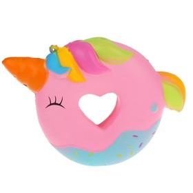 Мялка-сквиши «Пончик», с рогом
