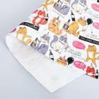 Бумага упаковочная крафтовая «Веселимся», 50 × 70 см
