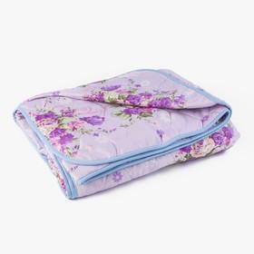 Одеяло стеганое облегченное «Овечья шерсть», цвет 200х220 см, цвет МИКС, полиэфирное волокно