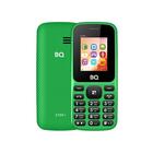 Сотовый телефон BQ M-1807 Step+, 160x128, 64 Мб, слот MicroSD, 600мАч, 2 SIM, зеленый