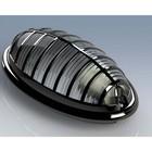 Светильник 400-002-111, 1х26 Вт, Е27, IP 54, цвет черный