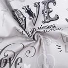 "Towel ""Ethel"" Love 40х67 cm, 100% cotton, twill 190 g/m2"