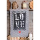 "Towel ""Ethel"" Love is all around 40х67 cm, 100% cotton, twill 190 g/m2"