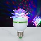 """Лампа """"Хрустальный Цветок"""", d=7.5 см, 220 В, цоколь Е27"""
