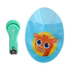 """Baby nail clippers with cover""""......"""", color blue"""