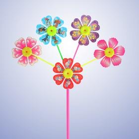 Ветерок «Цветок», цвета МИКС