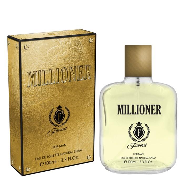 Туалетная вода мужская Favorit Millioner, 100 мл