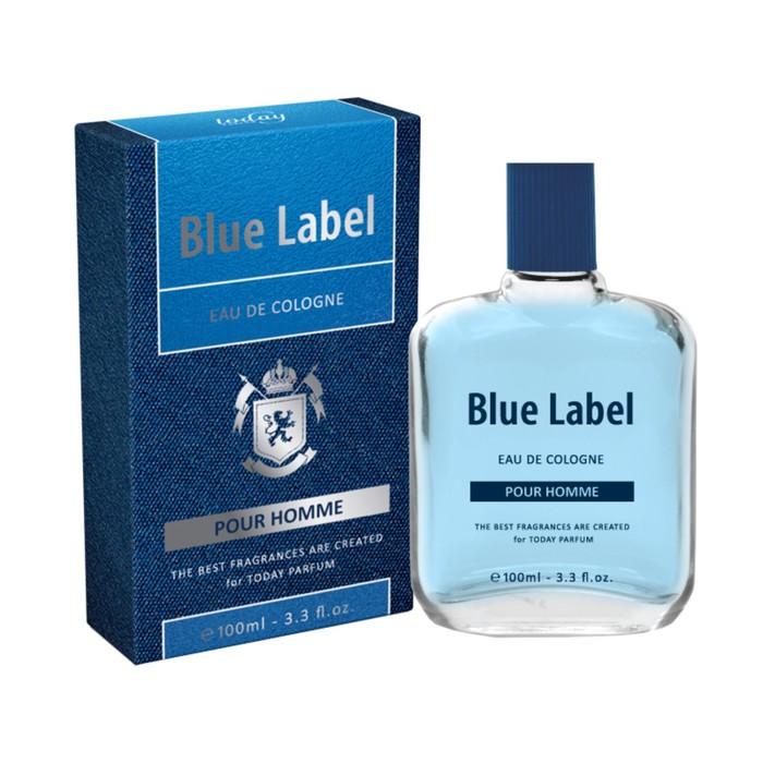 Одеколон Eau De Cologne Blue Label, 100 мл