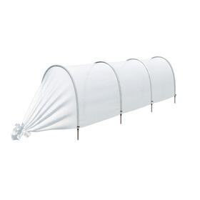Парник прошитый, длина 3.5 м, 4 дуги из пластика, дуга L = 2 м, d = 20 мм, спанбонд 35 г/м², Reifenhäuser, «Ленивый»