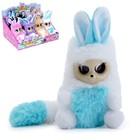 Интерактивная игрушка «Пушастик Ниша» бело-голубая