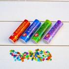 """Набор хлопушек """"Четыре Стихии"""" с конфетти и серпантином, 4 шт по 10 см"""