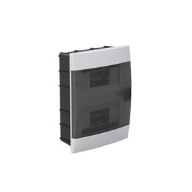 Бокс для автоматов пластиковый встраиваемый 600-000-161, 16 модулей, цвет белый