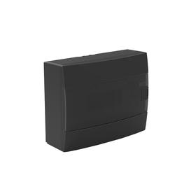 Бокс для автоматов пластиковый накладной 600-001-120, 12 модулей, цвет черный