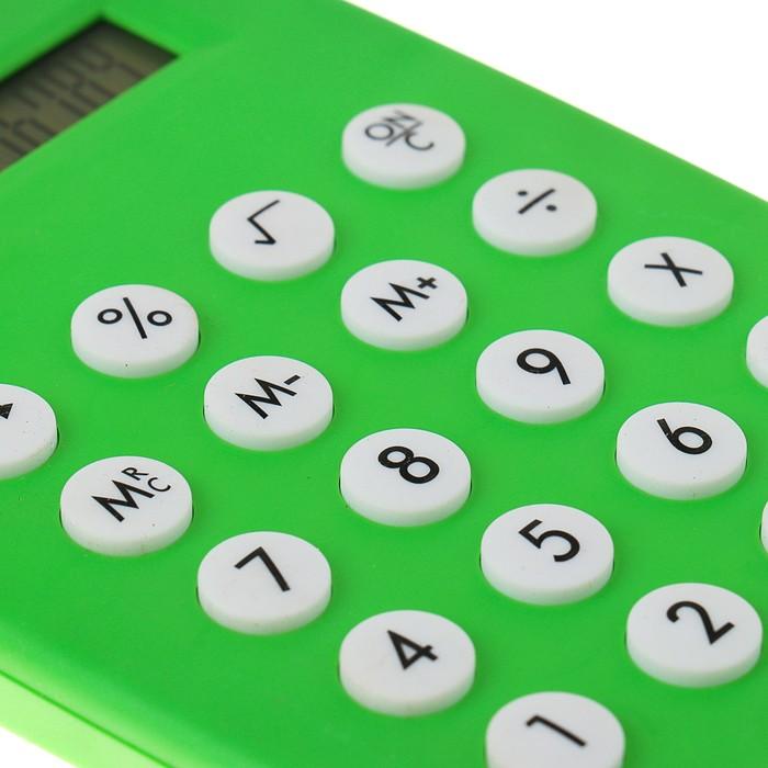 Калькулятор настольный, 12-разрядный, двойное питание, МИКС - фото 448832949