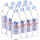 Вода минеральная негазированная Evian, 1 л (12 шт в упаковке)