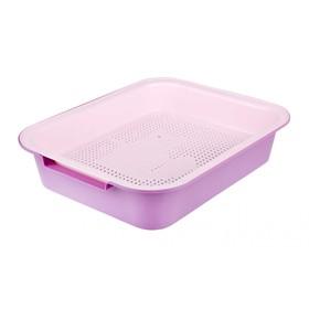 """Туалет """"Феликс"""" с сеткой, фиолетовый, 38 х 31,5 х 8 см"""