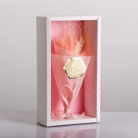 Букет из сухоцветов For you, 13 × 21 × 5 см