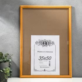 Photo frame pine amber 2/1 35x50 cm