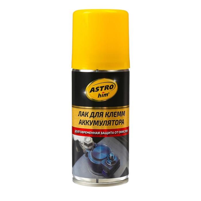 Лак Astrohim для клемм аккумулятора, 140 мл, аэрозоль, AC - 4291