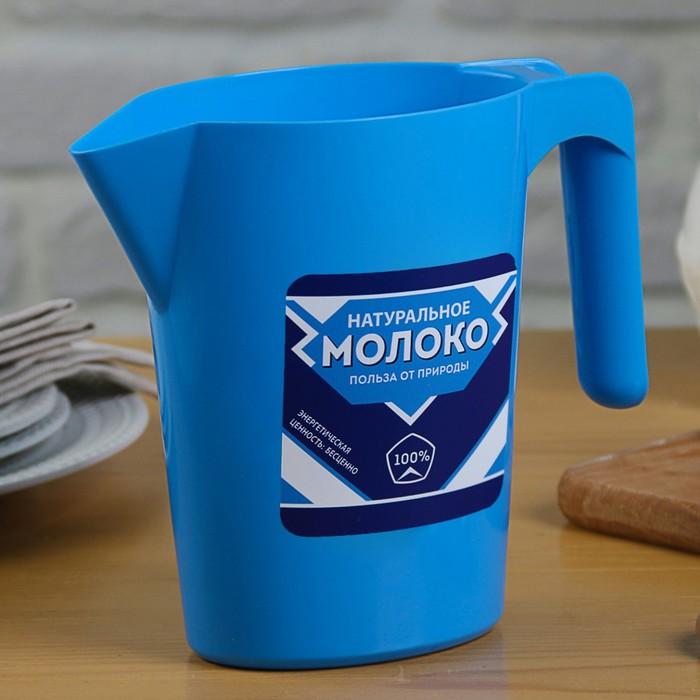 """Кувшин-подставка для молочного пакета """"Сгущенка"""", 1 л"""