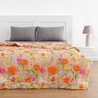 Одеяло всесезонное 140х205 см, полиэфирное волокно 200 гр/м, пэ 100%